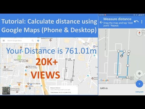 How to measure distance on Google Maps (Phone & Desktop Tutorial)