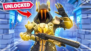 Unlocking The  GOLDEN Ice King In Fortnite