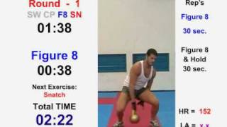 Kettlebell Cardio Conditioning Workout  Round 1- Cardio Machine © ® 2007