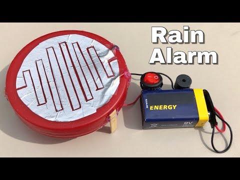 How to Make Rain indicator - Electric Water Alarm