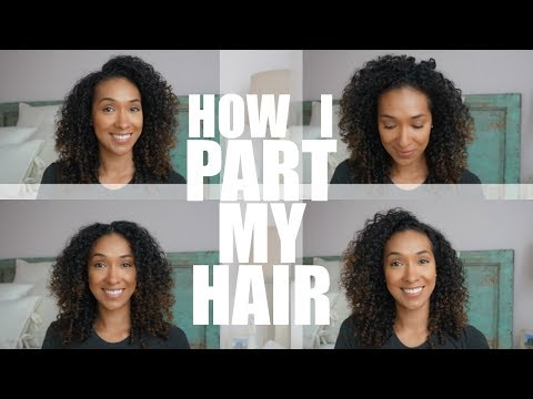 How To Part Curly Hair | RisasRizos