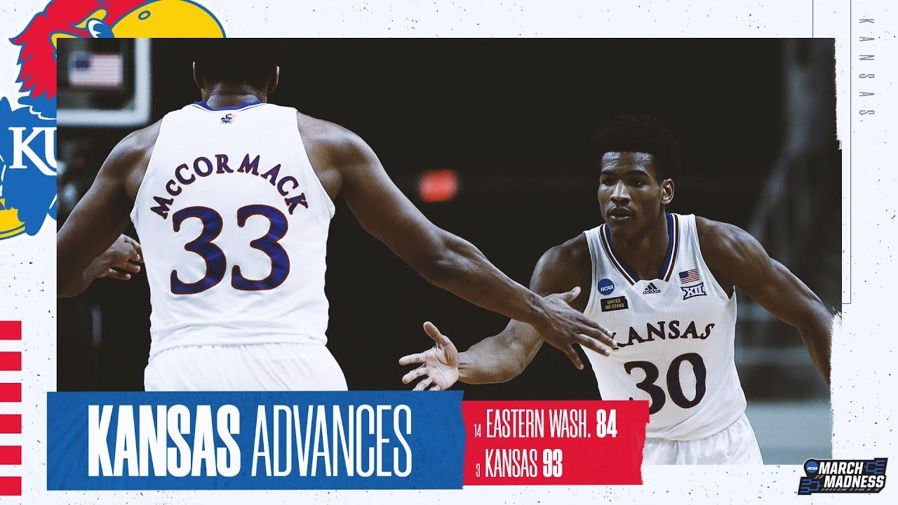 Kansas vs. Eastern Washington - First Round NCAA tournament extended highlights