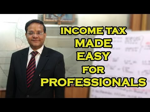 Income Tax Made Easy for Professionals from Financial Year 2016-17 u/s 44 ADA of the I.T. Act 1961