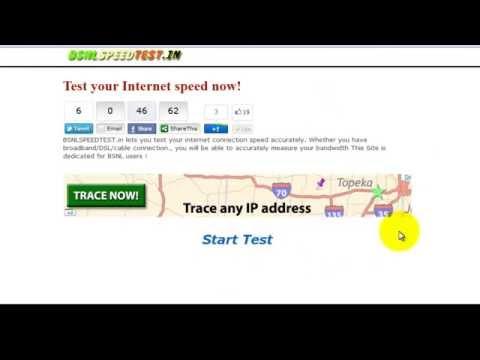 Speed Test Bsnl speed Test broadband speed test GPRS SPEED TEST