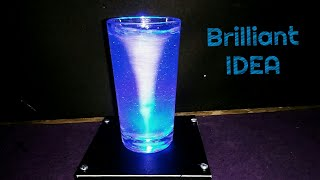 How to Make a Tornado in a Glass or Bottle - Home Decor Life Hack