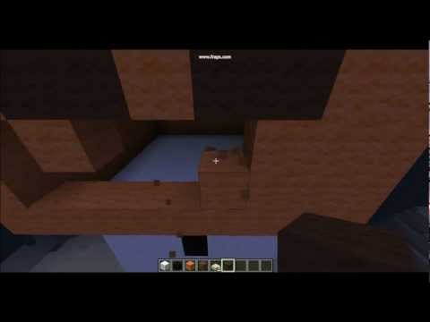 How to Make Minecraft: Statue of Snow Golem