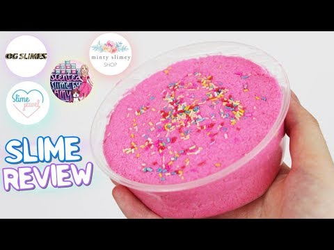 UNBIASED Slime Package Review from FAMOUS Slime Shops! I SECRET SHOPPED! DID I LIKE THEM?