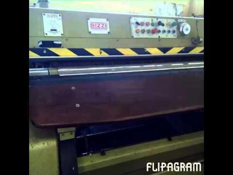 Leather shaving machine
