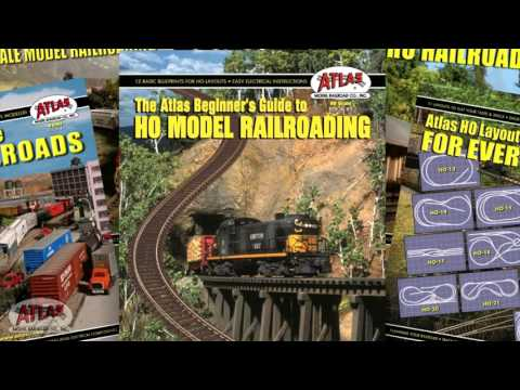 Atlas Model Railroad Train Track - Build Awesome Layouts in HO Scale, N Scale and O Gauge