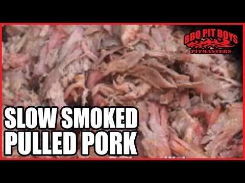 Slow Smoked Pulled Pork Barbecue Recipe by the BBQ Pit Boys