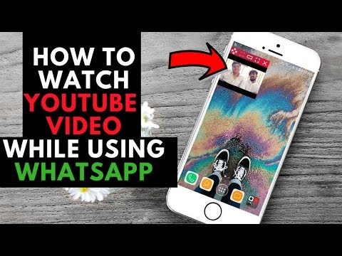 how to watch youtube videos while chatting in whatsapp    whatsapp trick 2018