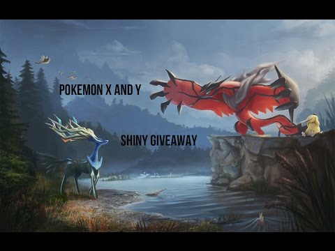 Pokemon X And Y Shiny And Legendary Giveaway