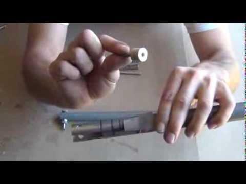 Homemade hand powered vacuum pump