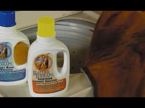 Leather Therapy: Laundry Solution for Leather Care