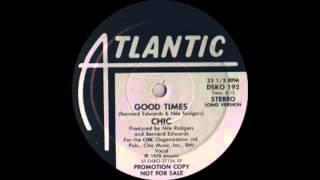 Chic - Good Times (Atlantic Records 1979)