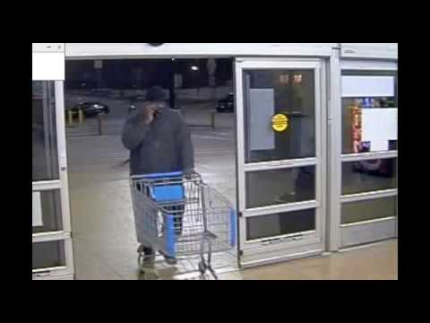 Entering Auto/Stolen Credit Card used at Walmart Covington, GA