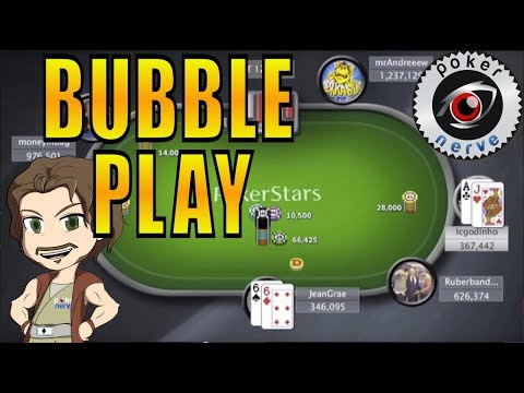 Poker Bubble Play: Maximise Pressure On Your Opponent [Hand Replay]