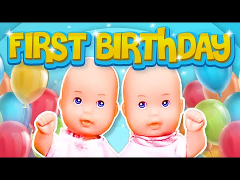 Barbie - The Twin's First Birthday   Ep.47