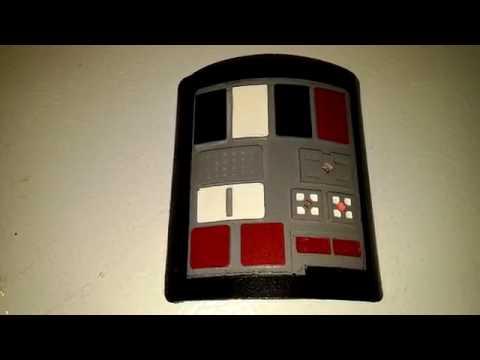 Tie Fighter Pilot Comm Pad:  4 LEDs