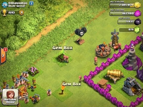 Opening A Gem Box - Clash of Clans