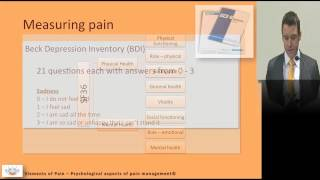 12 Psychological aspects of pain management
