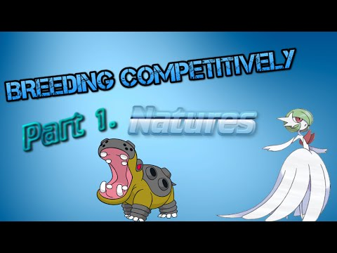 Competitive Breeding Guide | Part. 1 | Natures | Pokemon XY ORAS