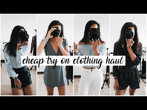 Online Second Hand Clothing Haul Try On | United Wardrobe Shoplog