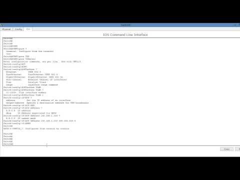 HOW TO CONFIGURE IP ADDRESS IN CISCO SWITCH IN HINDI AND URDU