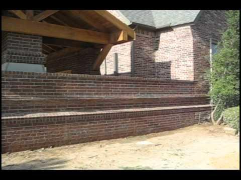 Brick Makeover in big patio addition. Part #1