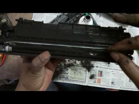 How to Refill Canon 303 or 12A Refilling Tutorial