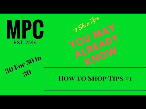 How to Shop Tips #1