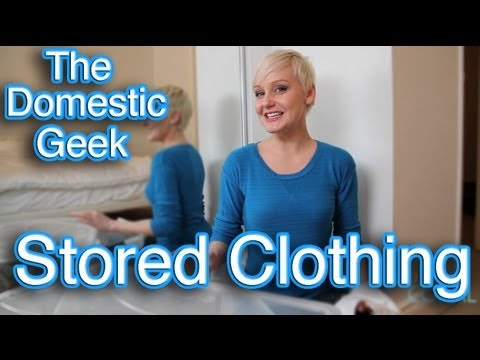 The Domestic Geek: How to Store Clothing