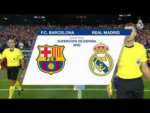 el clasico 2017 match highlight at Camp Nou (Barcelona)
