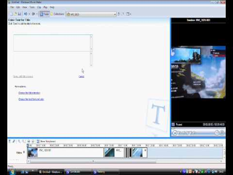 How to remove audio but keep the music on windows movie maker
