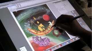Joe Painting the 4th Season Rocko  DVD Cover
