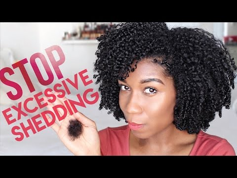 Stop Excessive Hair Shedding + Hair Loss FAST! How To Tea Rinse | Natural Green Tea