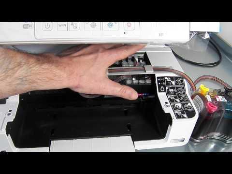 Ciss continuous ink system fits Epson XP247 - XP-247
