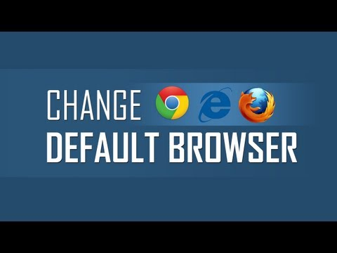 Change default Web Browser on Windows PC