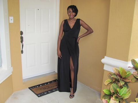 DIY Wrap Dress from Scratch (Draping)