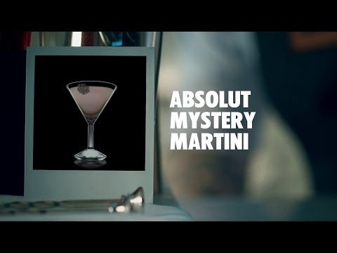 ABSOLUT MYSTERY MARTINI DRINK RECIPE - HOW TO MIX
