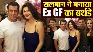 Salman Khan celebrates Ex girlfriend Sangeeta Bijlani
