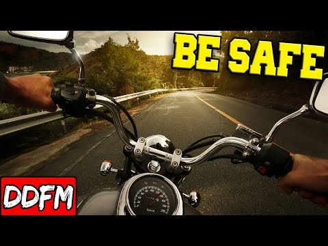 4 Simple Long Distance Motorcycle Riding Tips!