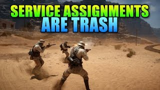 """Service Assignments Are Trash - Battlefield 1 """"Progression"""" System"""