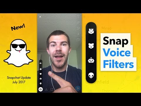 How to Use Snapchat Voice Filters
