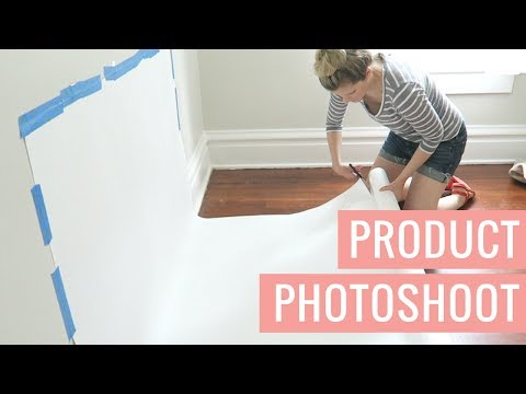 At-Home Product Photography Photoshoot Behind The Scenes | Vlog