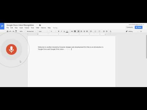 Google Drive Voice Recognition & Speech to Text Software