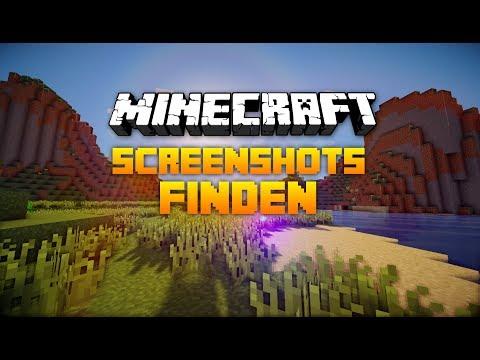 [Tutorial] Wie finde ich meine Minecraft Screenshot [HD]