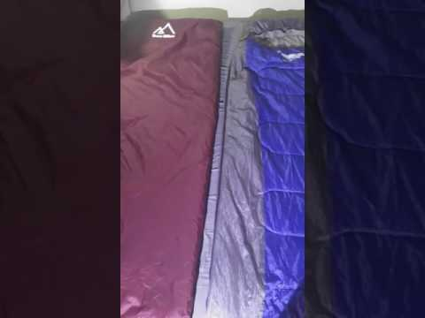 Battle of the Budget Sleeping Bags - Terra Hiker Ultralight vs. Luxe Tempo Lightweight