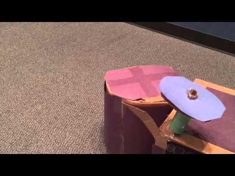 DECA Idea Challenge 2015 - Cardboard Drum Set