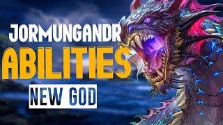 BIG SNEK in SMITE! Jormungandr, His Abilities And Unique Mechanics - A Closer Look